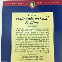 Guide Concise Hallmarks on Gold & Silver by William Chaffers edition 1994