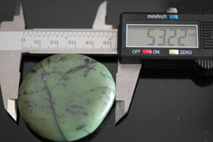 Natural Jade Nephrite stone polished