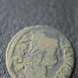 Antique 17thC one 1 shilling John II Casimir Vasa Grand Duchy of Lithuania
