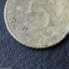 Load image into Gallery viewer, Antique 1941 coin 5 Reichspfennig Fuhrer Adolf Hitler of Germany Berlin