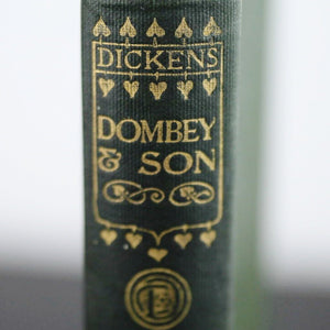 "First edition Antique 1907 book by Charles Dickens ""Dombey & Son"" London"