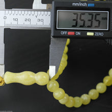 Load image into Gallery viewer, Genuine Baltic Amber beads 9mm Islam Tasbih Rosary White Cloudy yolk