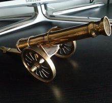 Vintage model Antique cannon brass statue great British Empire nice gift