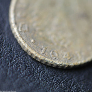 Antique 1941 coin 5 Reichspfennig Fuhrer Adolf Hitler of Germany Berlin