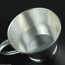 Antique 1919 sterling silver Christening cup Dublin Ireland great solid gift