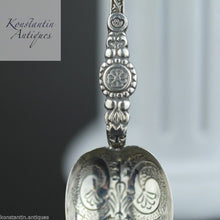 Load image into Gallery viewer, Antique 1910 sterling silver anointing spoon Birmingham British Empire