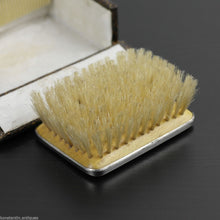 Load image into Gallery viewer, Antique 1927 sterling silver lapis lazuli brush and comb Birmingham