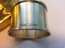 Load image into Gallery viewer, Vintage 1973 solid silver napkin ring Birmingham Henry Griffiths & Sons Gift