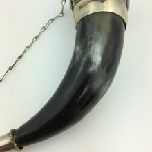 Load image into Gallery viewer, Vintage Caucasian Drinking Horn Cup for Wine Vodka Cognac party gift
