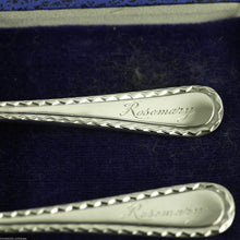 Vintage 1943/45 sterling silver Christening Set spoon pusher Rosemary