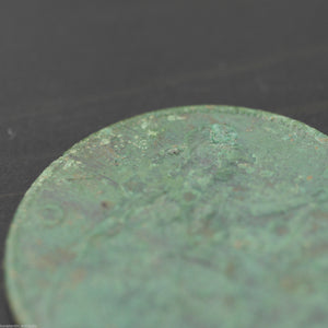 Vintage 1919 coin One penny George V Great Britain Bronze with patina nice gift
