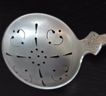 Load image into Gallery viewer, Antique solid silver powder sifter spoon Norway 830S TH Marthinsen