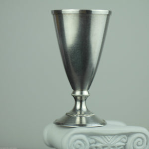 Antique style 20thC solid silver gold plated cup Estonia USSR