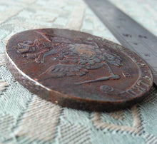Load image into Gallery viewer, Antique 1770 coin 5 kopeks Emperor Catherine II of Russian Empire 18thC SPB