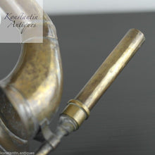 Load image into Gallery viewer, Antique 20thC brass car horn solid sound from British Empire