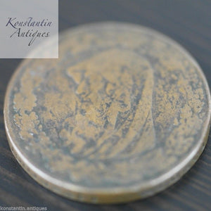 Antique 1787 Anglesey Penny Token British Empire 18thC great rare gift