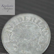 Load image into Gallery viewer, Vintage 1941 coin 25 cents Netherlands old gift