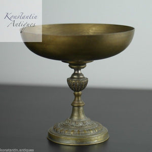 Antique French tazza cup statue Neo Classical