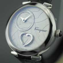Load image into Gallery viewer, Salvatore Ferragamo Cuore Swiss made wrist watch with Pulsing Heart