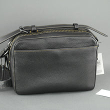 Load image into Gallery viewer, COACH Men's Black Gotham crossbody bag in glovetanned leather