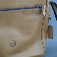 Load image into Gallery viewer, COACH brown Metropolitan Map Bag in rich calf leather