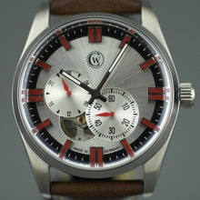 Load image into Gallery viewer, Constantin Weisz Limited Edition Automatic wristwatch 21 jewels open heart leather strap