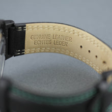 Load image into Gallery viewer, Constantin Weisz 20 jewels Gent's Automatic wrist watch British Rase green dial and leather strap