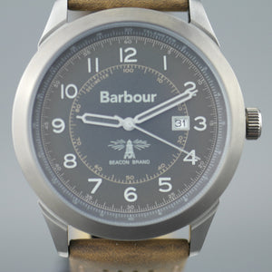 Barbour Walker a super special Gents watch with brown leather strap