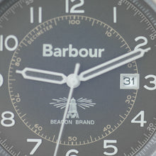 Load image into Gallery viewer, Barbour Walker a super special Gents watch with brown leather strap