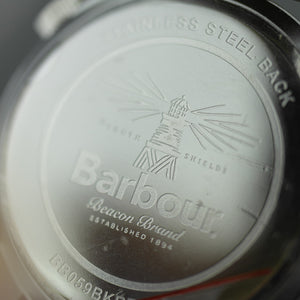 Barbour Seaburn a super special Gents watch with brown leather strap