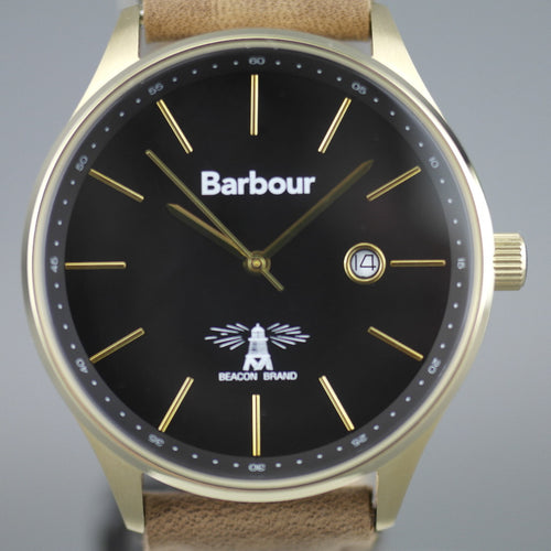 Barbour Glysdale a super special Gents watch with wool and leather strap