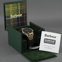 Load image into Gallery viewer, Barbour Glysdale a super special Gents watch with wool and leather strap
