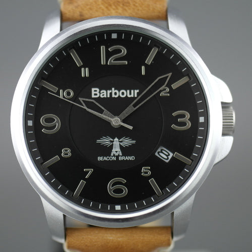 Barbour Barnard a super special Gents watch with wool and leather strap