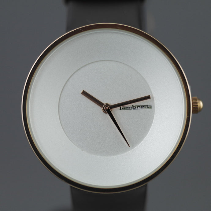 Lambretta Cielo Watch Rose Gold Moro with leather strap