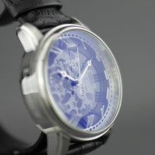 Load image into Gallery viewer, Thomas Earnshaw Longitude Alta Skeleton Automatic wrist watch leather strap