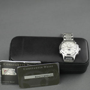 Constantin Weisz Automatic 20 jewels wrist watch with bracelet