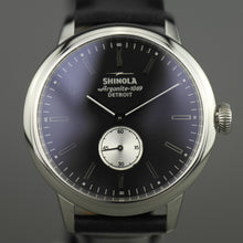 Load image into Gallery viewer, Shinola The Runwell wrist watch with Black Dial and Leather strap