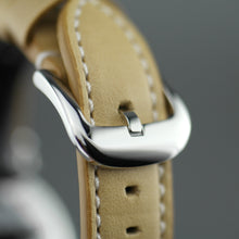 Load image into Gallery viewer, Shinola The Runwell wristwatch with copper dial and Aniline Latigo Leather strap