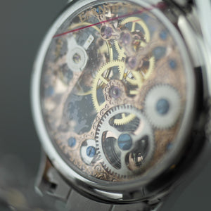 Thomas Earnshaw BAUER Mechanical wrist watch with bracelet