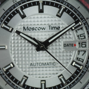 Moscow Time a world timer Gent's Automatic wrist watch with bracelet