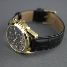 Load image into Gallery viewer, Constantin Weisz classic automatic open heart wrist watch leather strap