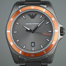 Load image into Gallery viewer, Emporio Armani Sigma Luigi Gunmetal Grey Steel 44 mm Men's Watch