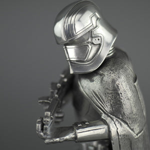 Star Wars Limited Edition Captain Phasma Pewter Figurine by Royal Selangor