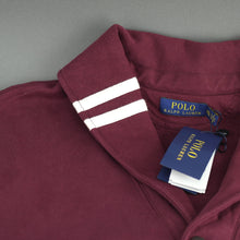 Load image into Gallery viewer, Polo Ralph Lauren Cotton Blend Fleece Cardigan Burgundy