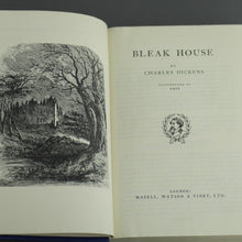 "Load image into Gallery viewer, Special Edition Antique 1885 book by Charles Dickens ""Bleak House"" London"