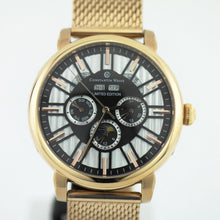 Load image into Gallery viewer, Limited Edition Constantin Weisz automatic wrist watch gold plated Day Night