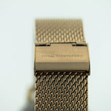 Limited Edition Constantin Weisz automatic wrist watch gold plated Day Night