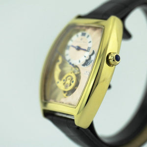 Limited Edition Constantin Weisz automatic wrist watch gold plated in box