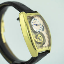 Load image into Gallery viewer, Limited Edition Constantin Weisz automatic wrist watch gold plated in box