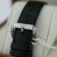 Load image into Gallery viewer, Ingersoll Bloomsbury wrist watch black leather strap